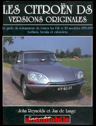 Citroen DS versions originales